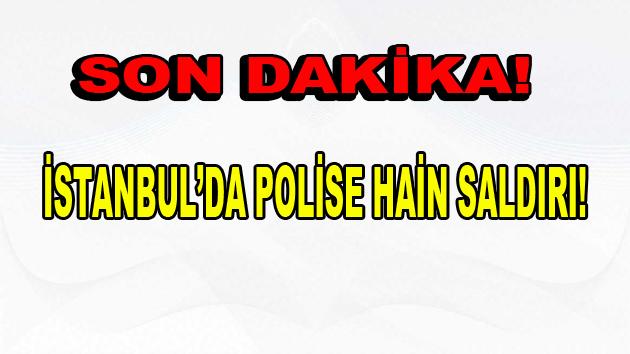 İstanbul Vezneciler'de Polise Saldırı!