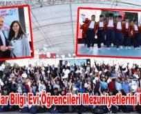 Bağcılar Bilgi Evi Öğrencileri Mezuniyetlerini Kutladı