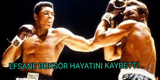 Efsane boksör Muhammed Ali hayatını kaybetti