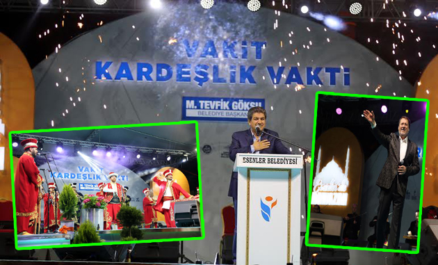 ESENLER'DE RAMAZAN COŞKUSU BAŞLADI