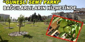 """""""Güneşli Semt Parkı"""" Bağcılarlıların hizmetinde…"""