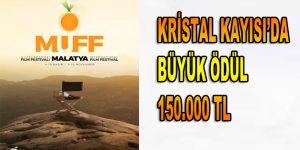 KRİSTAL KAYISI'DA BÜYÜK ÖDÜL 150.000 TL