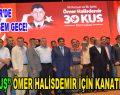"""""""30 KUŞ"""" Ömer Halisdemir için kanatlandı"""