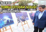 """Esenler'de """"15 Temmuz Fotoğraf Sergisi"""" büyük ilgi gördü"""