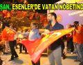 Esenler'de vatan nöbetine sanatçı Alişan katıldı