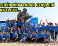 Esenler'in Mihmandar gençleri Çanakkale'de…