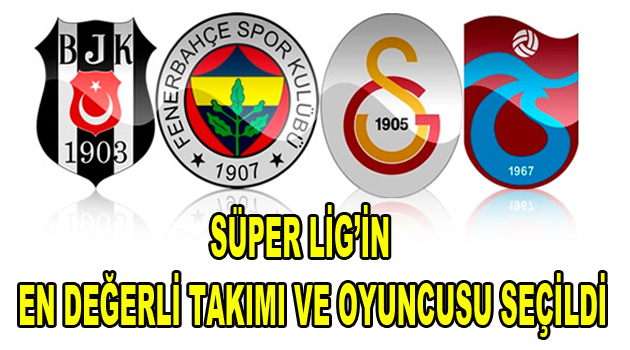 Süper Lig'in en değerli takımı ve oyuncusu açıklandı