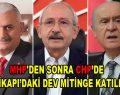 MHP'den sonra CHP'de Yenikapı'daki dev mitinge katılıyor