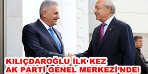 Kılıçdaroğlu ilk kez AK Parti Genel Merkezi'nde!