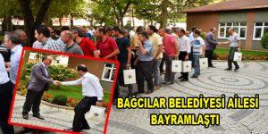 Bağcılar Belediyesi ailesi bayramlaştı