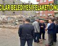 Bağcılar Belediyesi'nin mühürlediği bina kendiliğinden çöktü