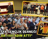 "Malatya Gençlik Derneği ""1 Yılda 1000 Adım Attı"""