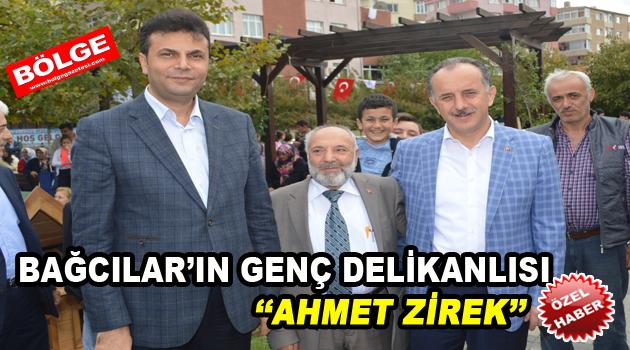 Bağcılar'ın genç delikanlısı Ahmet Zirek, Bölge Gazetesi'ne konuştu