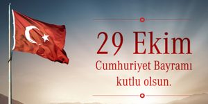 29 EKİM CUMHURİYET BAYRAMI
