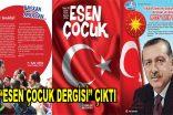 """""""15 Temmuz"""" temalı, Esen Çocuk Dergisi çıktı"""
