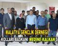 Malatya Gençlik Derneği  Kadın Kolları Başkanı Medine Kalkan oldu