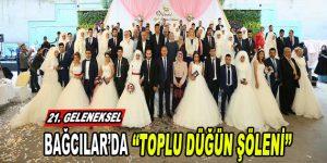 Bağcılar'da Toplu Düğün Şöleni