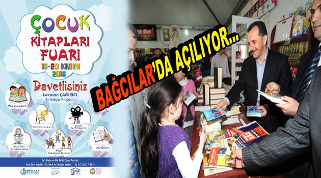 """Bağcılar'da """"Çocuk Kitapları Fuarı"""" açılıyor"""