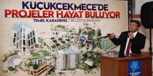 Karadeniz, yeni projeleri vatandaşlarla paylaştı