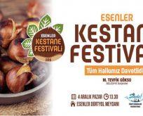 """Esenler'de """"1. Sinop Kestane Festivali"""" yapılacak"""