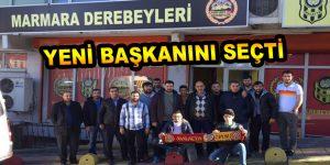 Marmara Derebeyleri, Dernek Başkanı'nı seçti