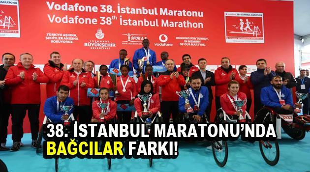 38. İstanbul Maratonu'nda Bağcılar farkı!