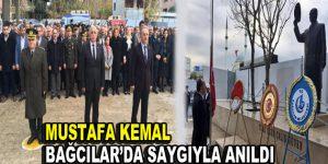 Mustafa Kemal, Bağcılar'da saygıyla anıldı
