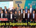AK Parti Yerel Yönetimler 1. Bölge İstişare ve Değerlendirme Toplantısı