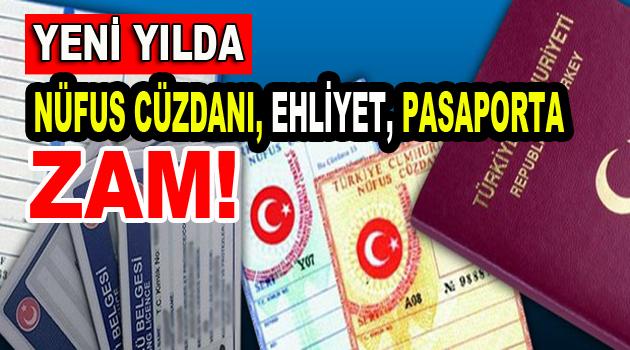 2017 yılında Ehliyet ve Pasaporta zam geliyor