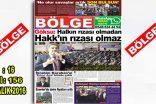 """BÖLGE GAZETESİ 156. """"ARALIK"""" SAYISI ÇIKTI"""