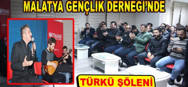 Malatya Gençlik Derneği'nde türkü şöleni