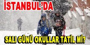 İstanbul'da Salı günü okullar tatil mi?