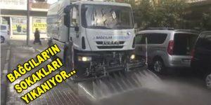 Bağcılar'ın sokakları yıkanıyor…