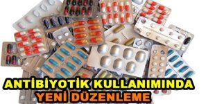 Antibiyotik kullanımında düzenleme geldi