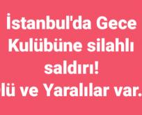 İstanbul Ortaköy'de silahlı saldırı!