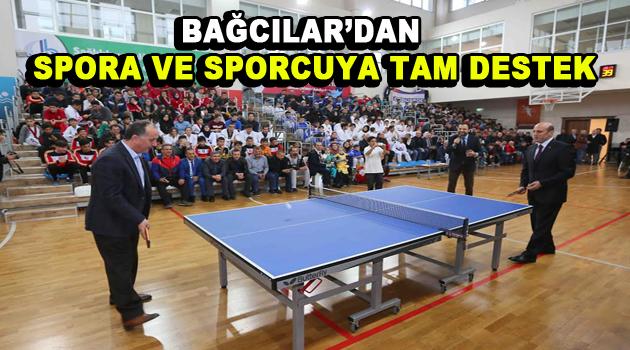 Bağcılar'dan spora ve sporcuya tam destek!