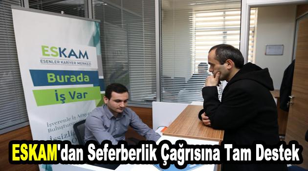 ESKAM'dan seferberlik çağrısına tam destek