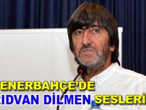 Fenerbahçe'de Rıdvan Dilmen sesleri