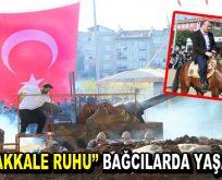 """Bağcılar'da """"Çanakkale Destanı"""" yaşatıldı"""