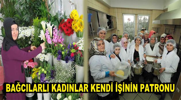 Bağcılar'da kadın girişiciler kendi işyerini açıyor