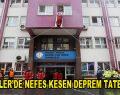 Esenler'de öğrencilere deprem tatbikatı yapıldı