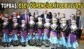 Topbaş, ESEV öğrencileriyle buluştu