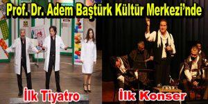 Esenler'in yeni kültür merkezinde ilk tiyatro, ilk konser gerçekleşti