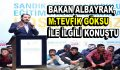 Bakan Albayrak'dan, Başkan Göksu ile ilgili önemli açıklamalar