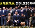 Bakan Albayrak, Referandum öncesi Esenler'de…