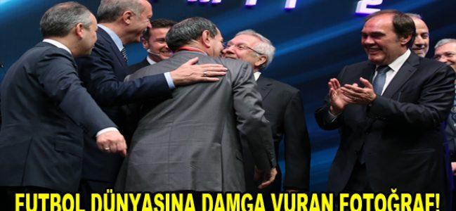 Cumhurbaşkanı Erdoğan, iki dargın başkanı barıştırdı