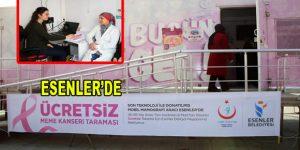Esenler'de ücretsiz Mamografi taraması