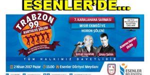 """Esenler'de """"Trabzon Şöleni"""""""