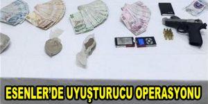 Esenler'de uyuşturucu operasyonu
