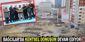 Bağcılar Çetsa Park Evleri'nin temeli törenle atıldı